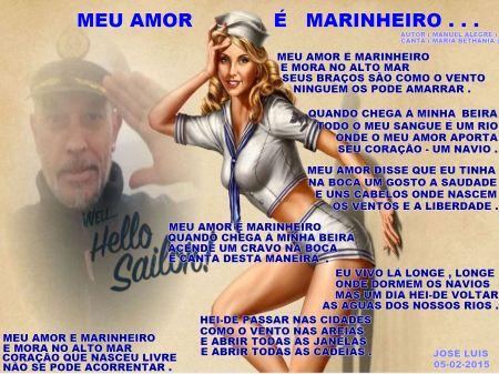MEU AMOR E MARINHEIRO