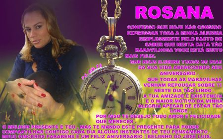 rosana 13-09-2013 FELIZ ANIVERSARIO