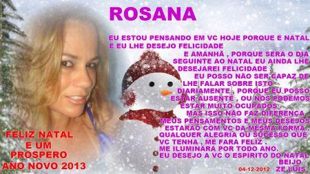 rosana natal 2012
