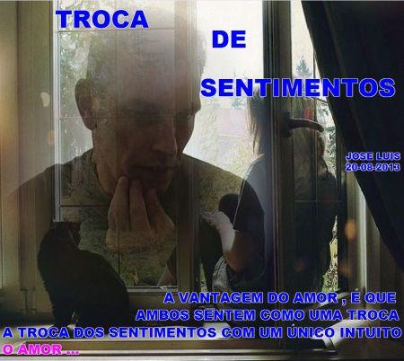 TROCA DE SENTIMENTOS